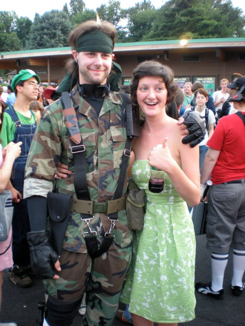 The Future Mr. & Mrs. Solid Snake