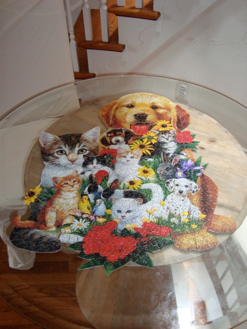 dog and cat puzzle